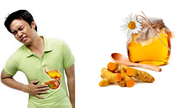Cách dùng nghệ chữa đau dạ dày