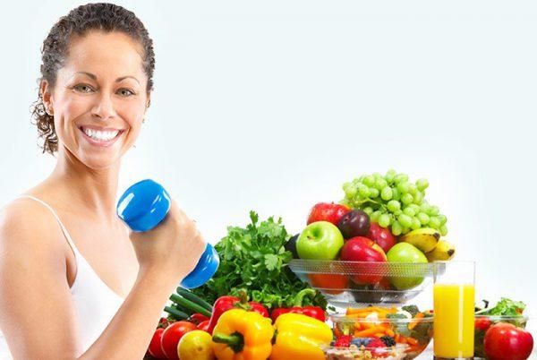 Tập thể dục và chế độ ăn phù hợp