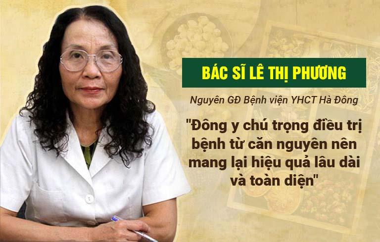 Bác sĩ Lê Thị Phương đánh giá về bài thuốc Tiêu ban Giải độc thang