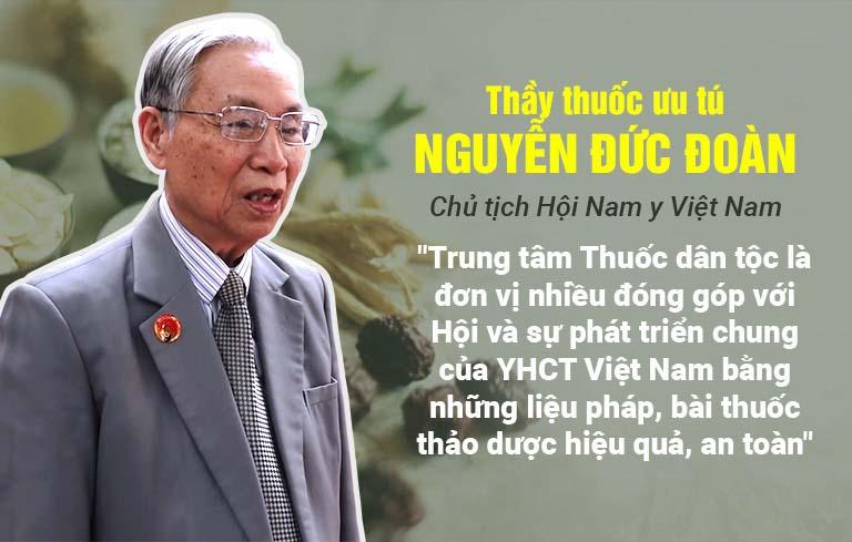 Thầy thuốc ưu tú Nguyễn Đức Đoàn đánh giá về liệu pháp trị mề đay Thuốc dân tộc
