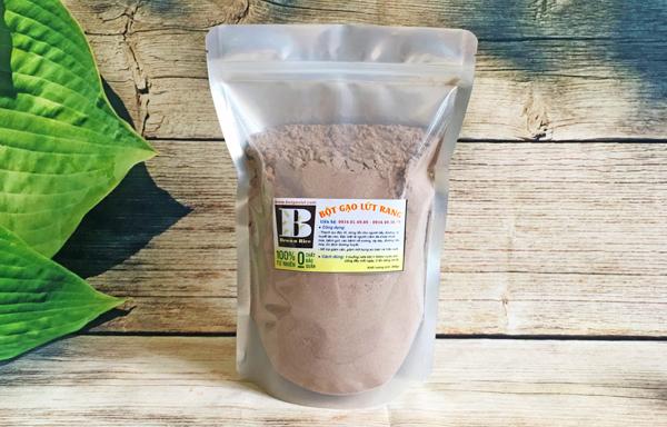 bột gạo lứt 600x384 - Gạo lứt chữa thoát vị đĩa đệm có HIỆU QUẢ NHƯ LỜI ĐỒN?
