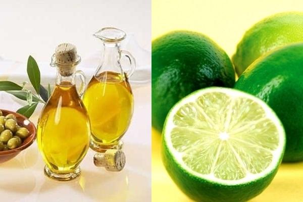 Chanh và dầu oliu giúp loại bỏ cặn thận
