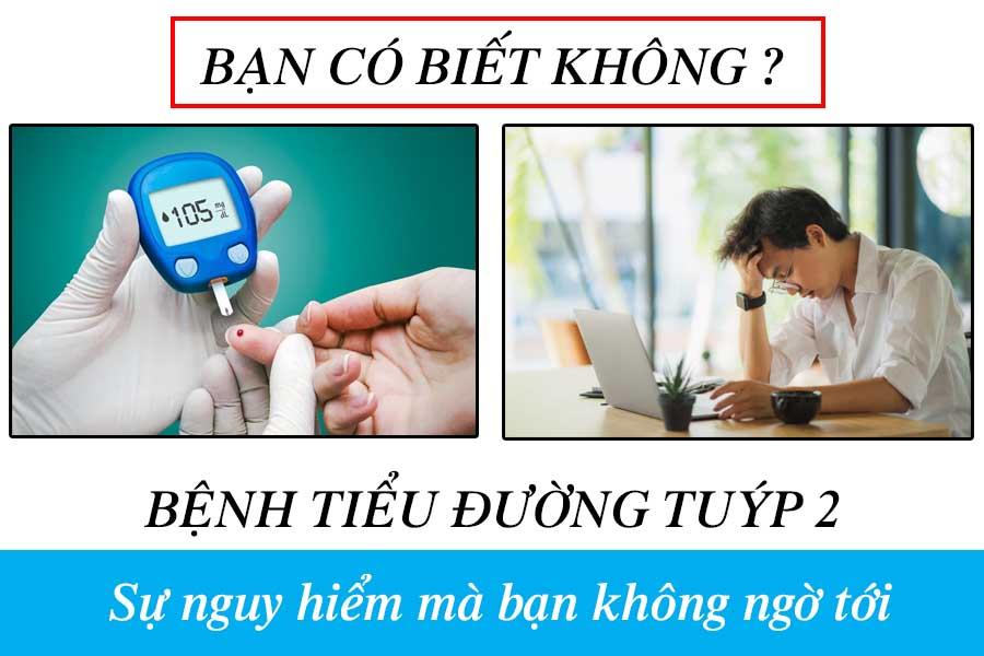 Bệnh tiểu đường tuýp 2 gây tiểu đêm thường xuyên