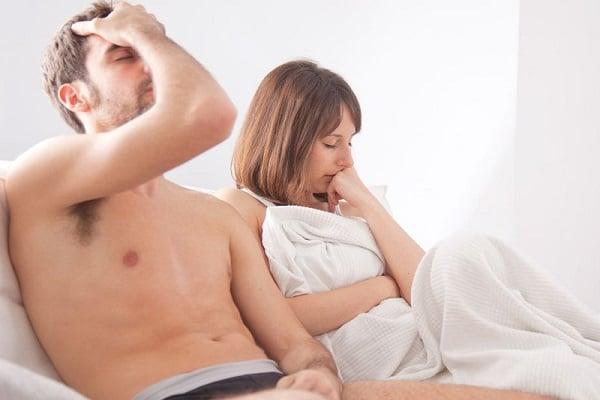 Bị đi tiểu rắt sau khi quan hệ vợ chồng