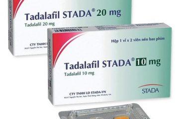 Thuốc Tadalafil: Công dụng, cách sử dụng 5mg, 10mg, 20mg, 50mg