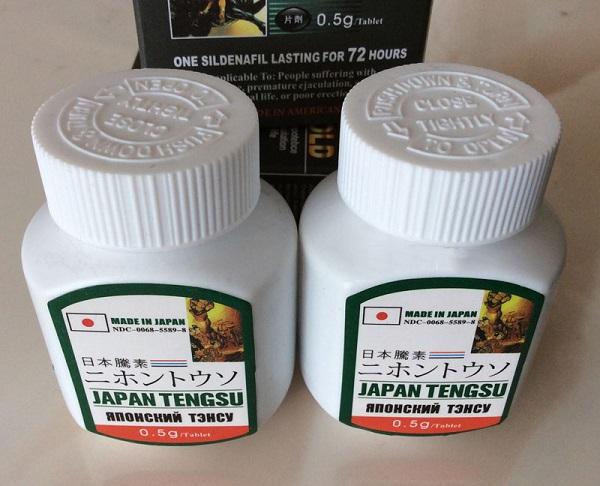 Thuốc Japan Tengsu của Nhật