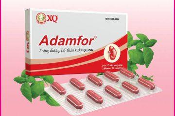 Thuốc Adamfor có tốt không và giá bao nhiêu?