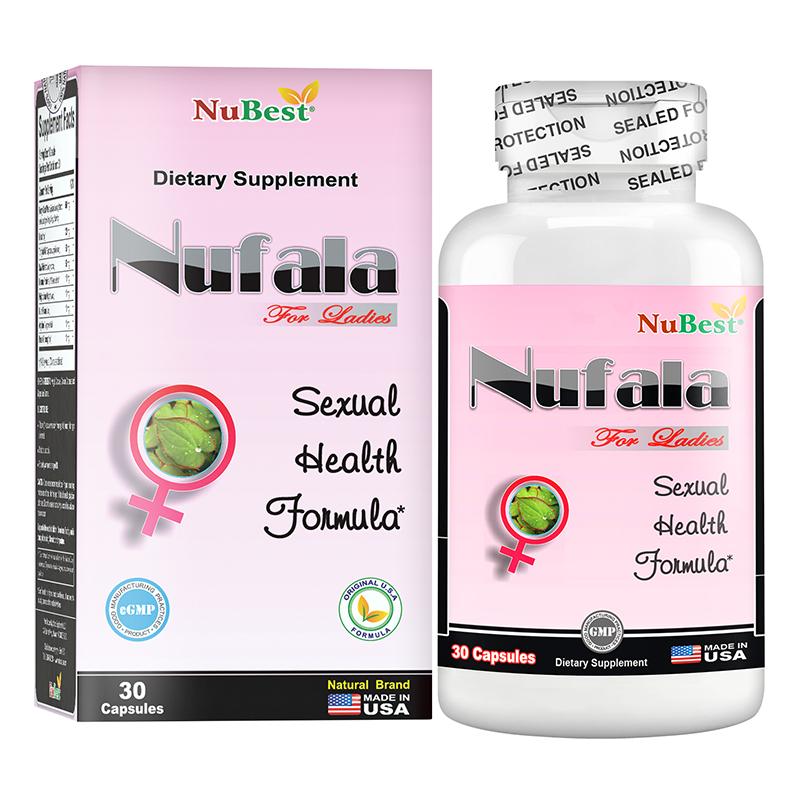 Thực phẩm chức năng tăng cường sinh lý nữ Nubest Nufala 30 viên