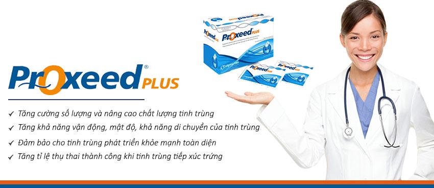 Tác dụng của thuốc Proxeed plus giúp cải thiện chất lượng tinh trùng