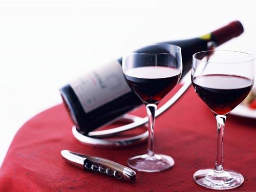 Các loại đồ uống có chứa chất kích thích, có ga