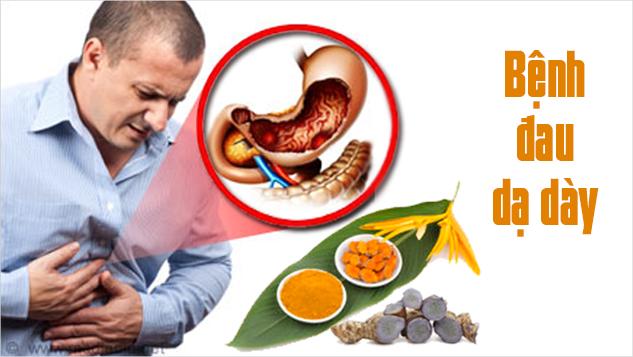 Bài thuốc nam chữa viêm loét dạ dày