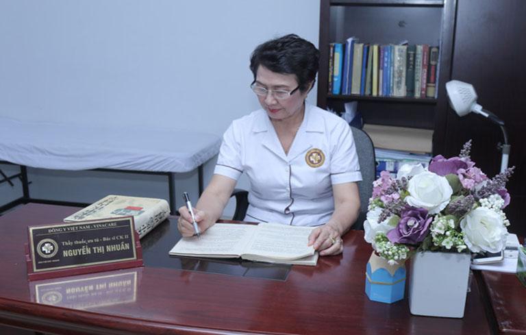 Bác sĩ Nguyễn Thị Nhuần dành cho Thanh bì dưỡng can thang những dánh giá cao về chất lượng