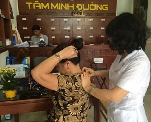 Chữa thoái hóa đốt sống cổ ở đâu - Phòng chẩn trị YHCT Tâm Minh Đường