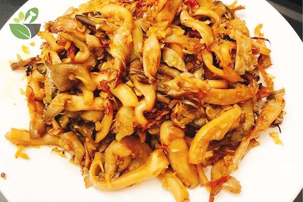 Cách chế biến nấm sò