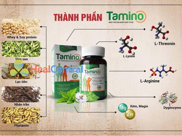 Các thành phần có trong Tamino
