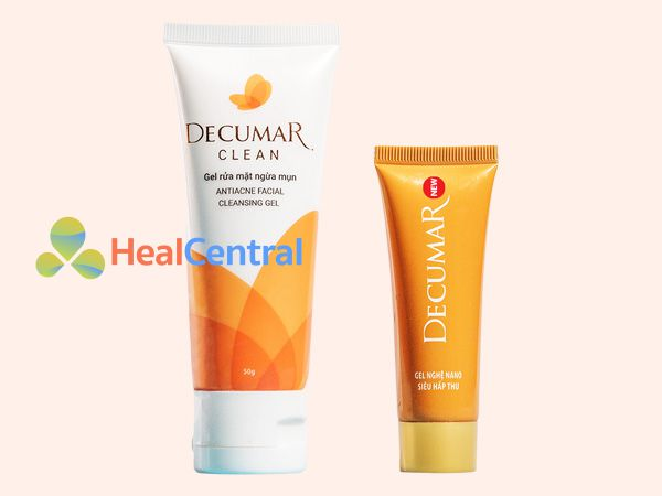 Decumar - hỗ trợ trị mụn ẩn