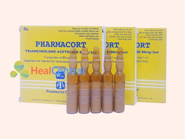 Thuốc tiêm sẹo Pharmacort
