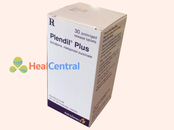 Plendil Plus giúp hạ huyết áp hiệu quả