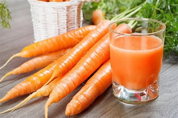 Củ cà rốt có công dụng gì