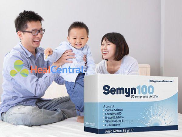 Semyn 100 - tăng khả năng thụ thai thành công