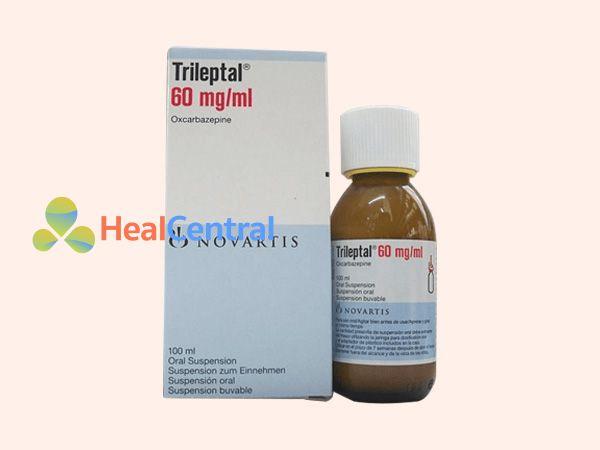 Hình ảnh hộp thuốc Trileptal 60mg/ml