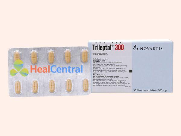 Thuốc Trileptal 300mg bào chế dạng viên nén bao phim