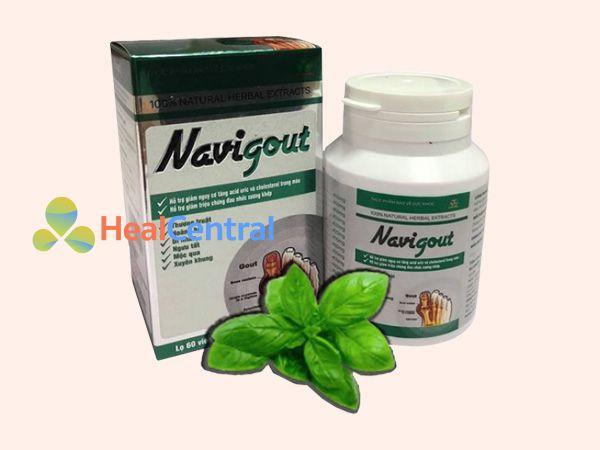Viên uống Navigout có thành phần từ thảo dược