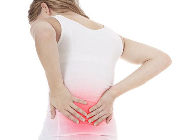đau lưng sau ngày rụng trứng