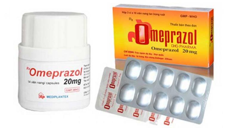 Thuốc trị đau dạ dày tốt nhất Omeprazol