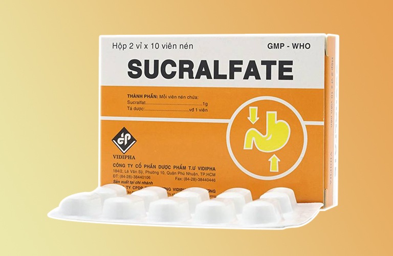 Thuốc trị đau dạ dày Sucralfate