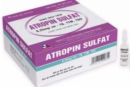 Thuốc Atropine: Tác dụng, chỉ định, liều dùng cho người lớn và trẻ em