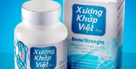 Thực phẩm chức năng xương khớp Việt Pro đa cấp? Giá bao nhiêu tiền?