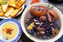 Cách làm món Giò heo hầm đậu đen SIÊU NGON trong nốt nhạc