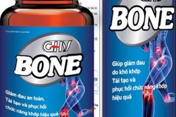 [VẠCH TRẦN] Viên Khớp GHV Bone Có Tốt Không, Nơi Mua, Giá Bao Nhiêu?