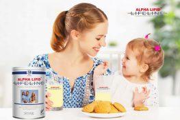 Sữa Alpha Lipid Lifeline 450g bà bầu có uống được không?